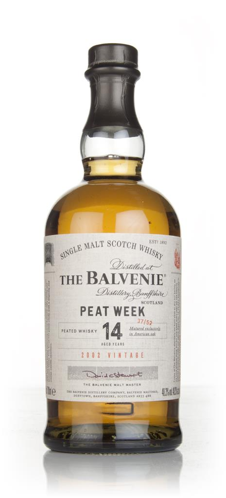 Balvenie Peat Week Aged 14 Year Old - 2002 Vintage Single Malt Whisky