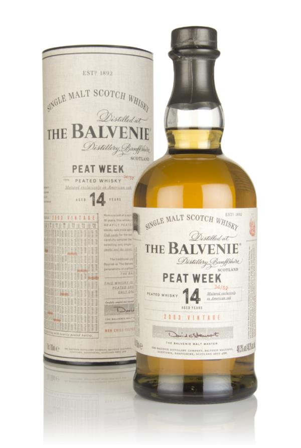 Balvenie Peat Week Aged 14 Year Old - 2003 Vintage Single Malt Whisky