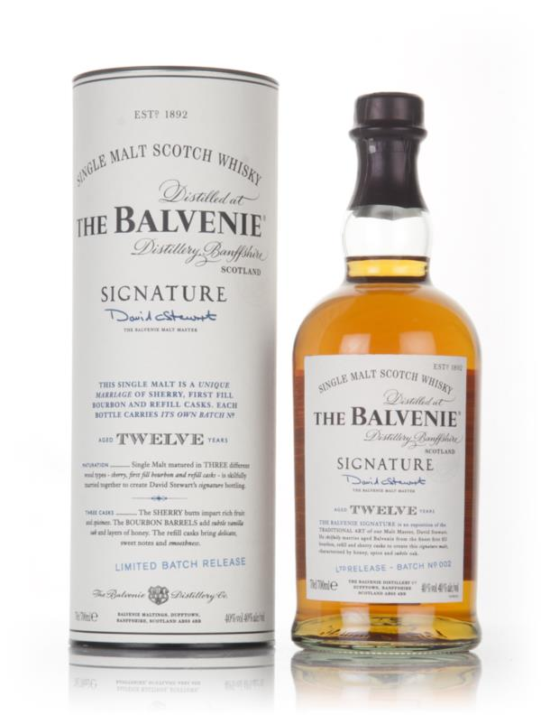 Balvenie Signature 12 Year Old Batch 002 Single Malt Whisky