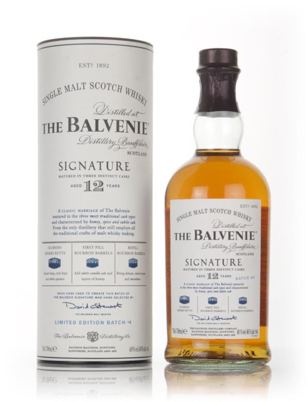 Balvenie Signature 12 Year Old Batch 004 Single Malt Whisky