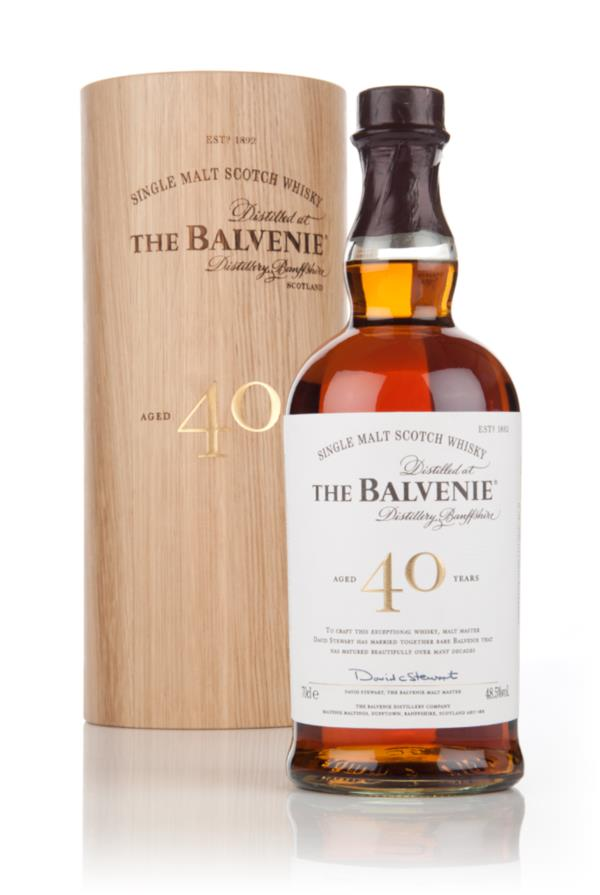 The Balvenie 40 Year Old Single Malt Whisky