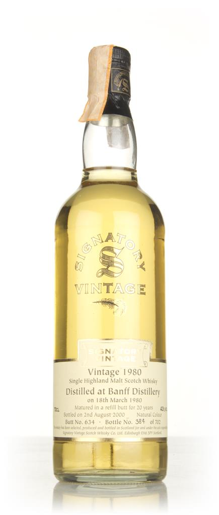 Banff 20 Year Old 1980 (cask 634) - Signatory Single Malt Whisky
