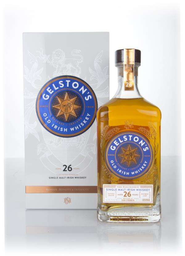 Gelstons 26 Year Old Single Malt Whiskey