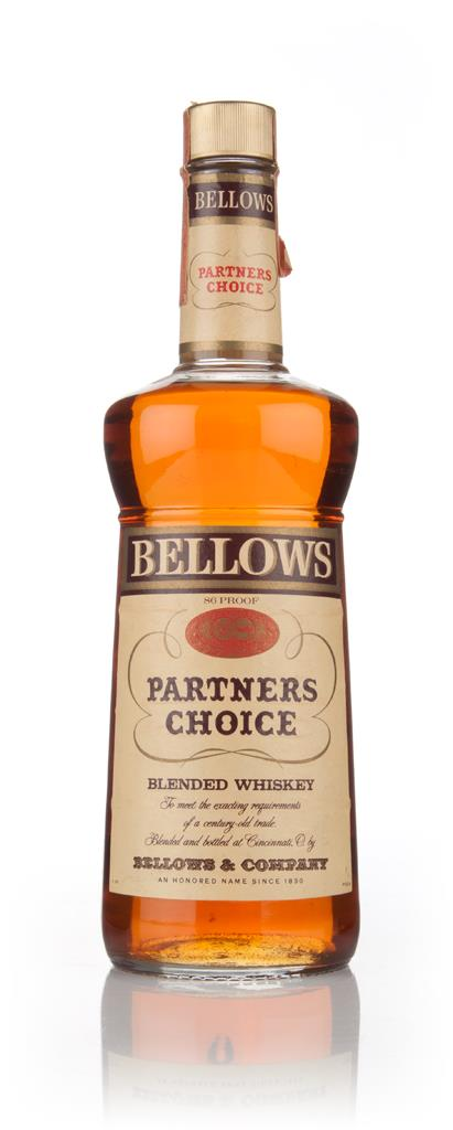 Bellows Partners Choice - 1960s Blended Whiskey