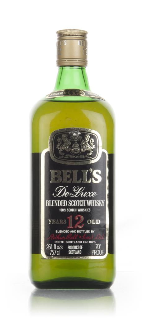Bells 12 Year Old De Luxe - 1980s Blended Whisky