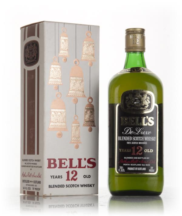 Bells 12 Year Old De Luxe (White Christmas Box) - 1970s Blended Whisky
