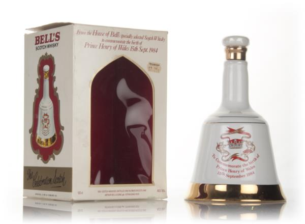 Bells Decanter Birth of Prince Henry of Wales - 1984 Blended Whisky