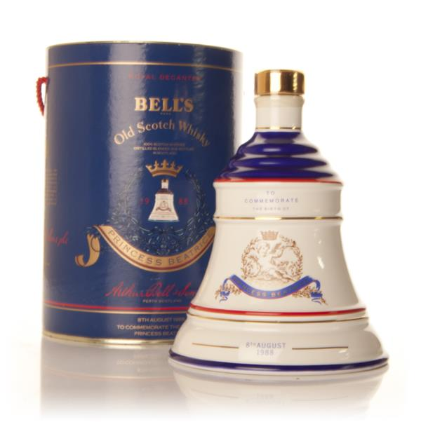 Bells Decanter - Princess Beatrice Blended Whisky