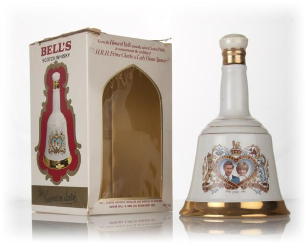 Bells Prince Charles and Lady Diana Spencer 1981 Decanter Blended Whisky