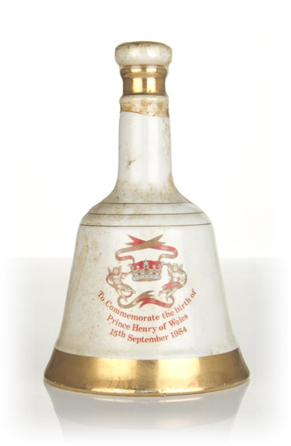 Bells Prince Henry of Wales Decanter - 1984 Blended Whisky