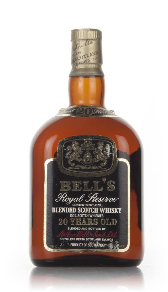 Bells Royal Reserve 20 Year Old - 1970s 3cl Sample Blended Whisky