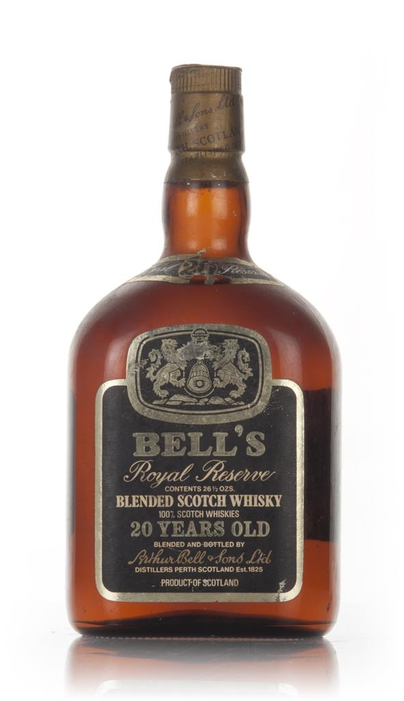 Bells Royal Reserve 20 Year Old Blended Scotch Whisky - 1970s Blended Whisky