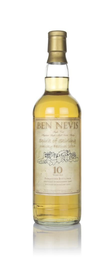 Ben Nevis 10 Year Old 1996 - Spirit of Stirling Festival 2014 Single Malt Whisky