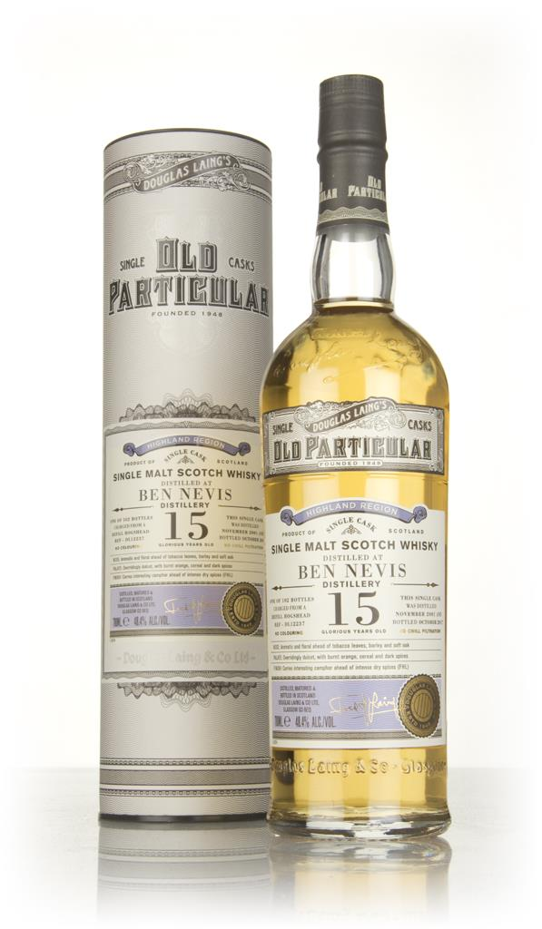 Ben Nevis 15 Year Old 2001 (cask 12237) - Old Particular (Douglas Lain Single Malt Whisky