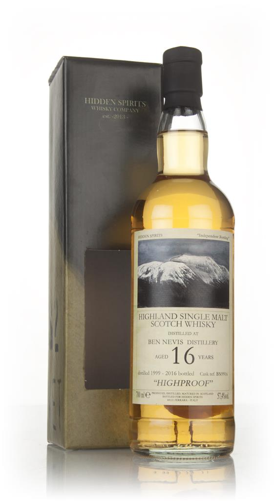 Ben Nevis 16 Year Old 1999 (cask BN9916) - Hidden Spirits Single Malt Whisky