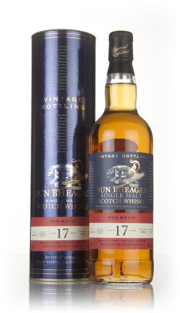Ben Nevis 17 Year Old 1999 (Cask 94311) - Dun Bheagan (Ian Macleod) Single Malt Whisky