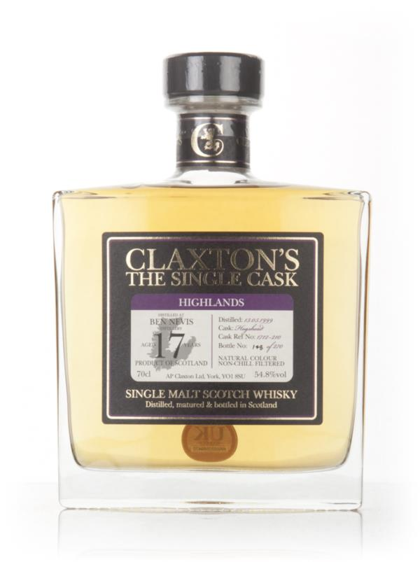Ben Nevis 17 Year Old 1999 - Claxtons Single Malt Whisky