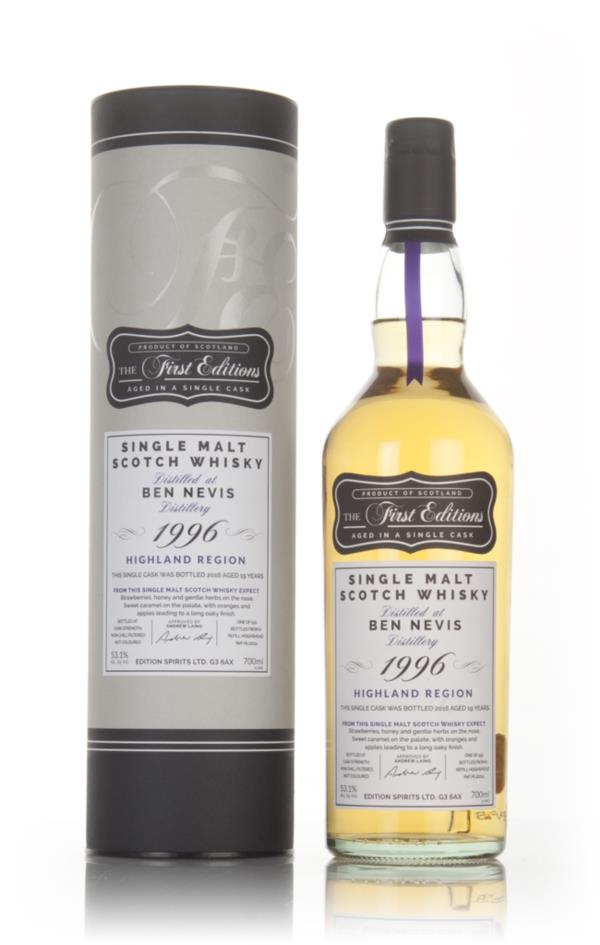 Ben Nevis 19 Year Old 1996 (cask 12214) - The First Editions (Hunter L Single Malt Whisky