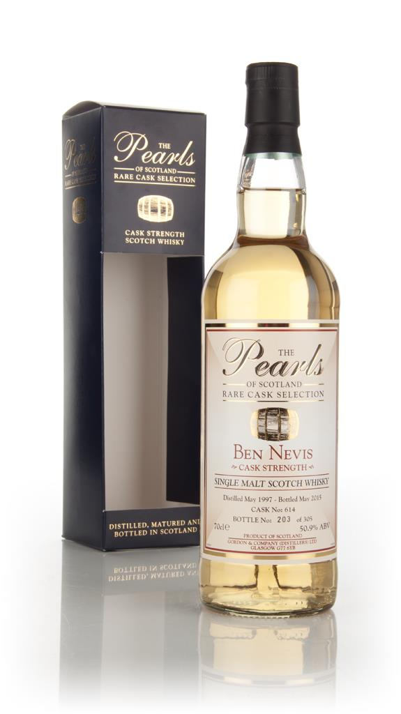 Ben Nevis 1997 (bottled 2015) (cask 614) - Pearls of Scotland (Gordon Single Malt Whisky
