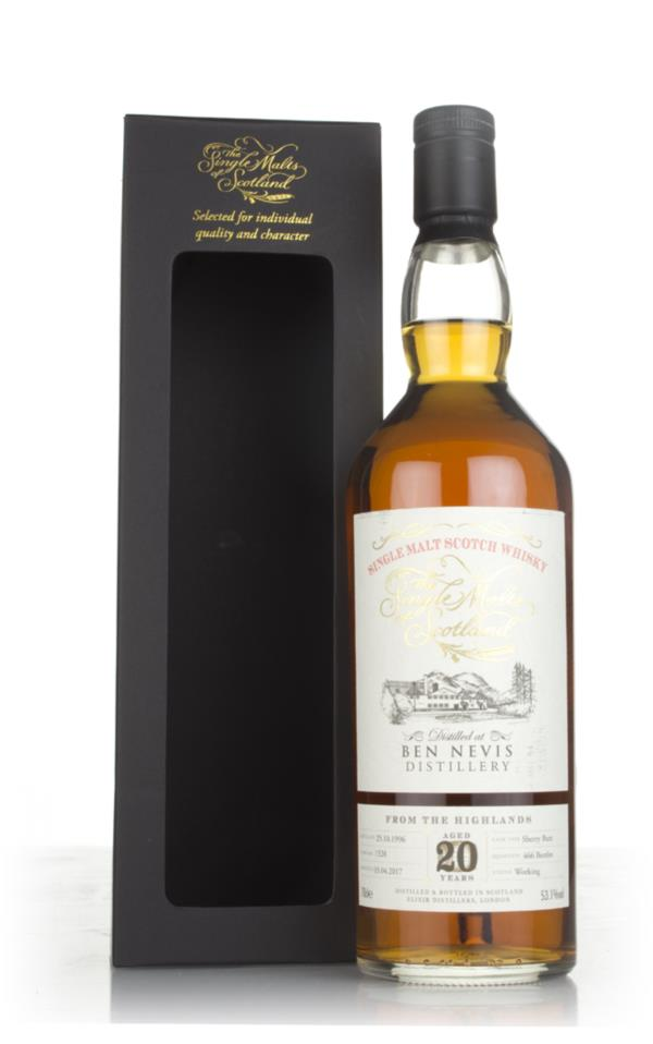 Ben Nevis 20 Year Old 1996 (cask 1528) - The Single Malts of Scotland Single Malt Whisky 3cl Sample