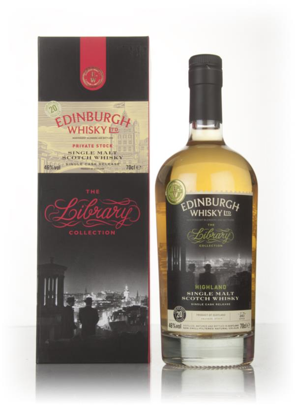Ben Nevis 20 Year Old 1996 - The Library Collection (Edinburgh Single Malt Whisky