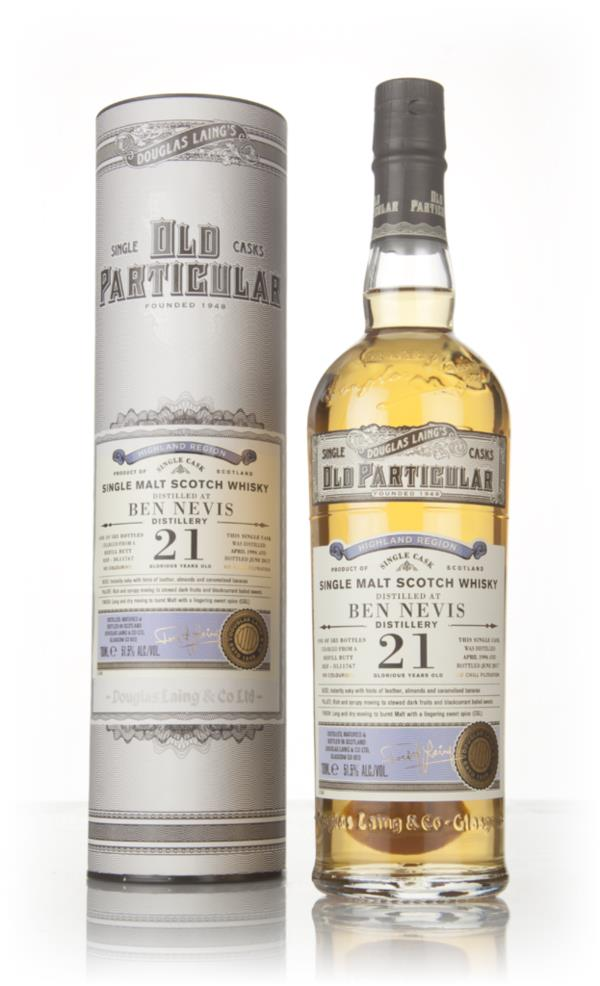Ben Nevis 21 Year Old 1996 (cask 11767) - Old Particular (Douglas Lain Single Malt Whisky