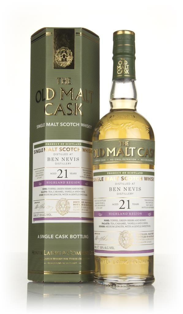 Ben Nevis 21 Year Old 1996 (cask 14287) - Old Malt Cask (Hunter Laing) Single Malt Whisky