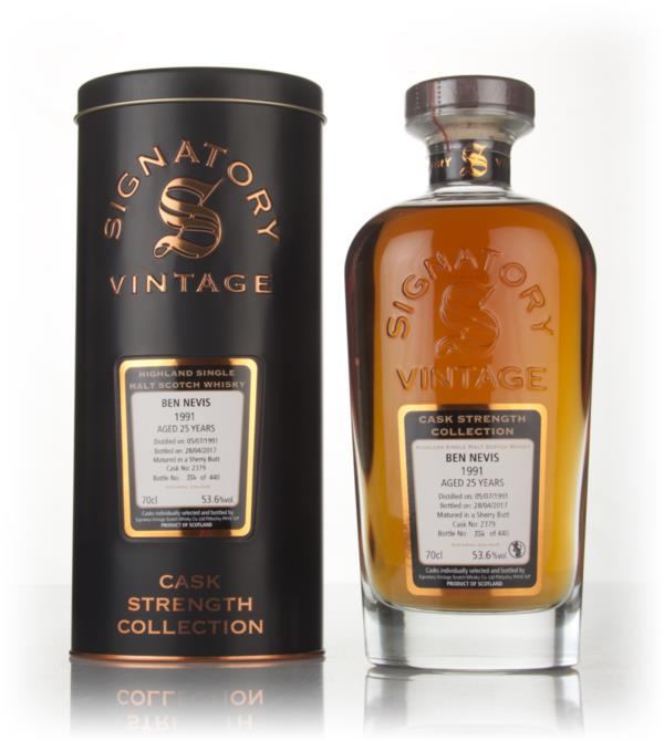 Ben Nevis 25 Year Old 1991 (cask 2379) - Cask Strength Collection (Sig Single Malt Whisky