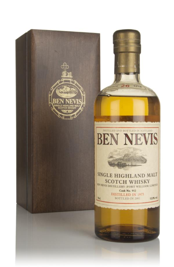 Ben Nevis 26 Year Old 1975 (cask 952) Single Malt Whisky