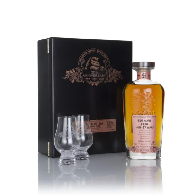 Ben Nevis 27 Year Old 1990 (cask 1505) - 30th Anniversary Gift Box (Si Single Malt Whisky