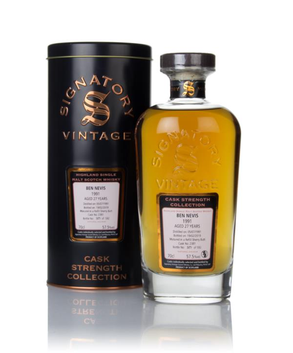 Ben Nevis 27 Year Old 1991 (cask 2381) - Cask Strength Collection (Sig Single Malt Whisky