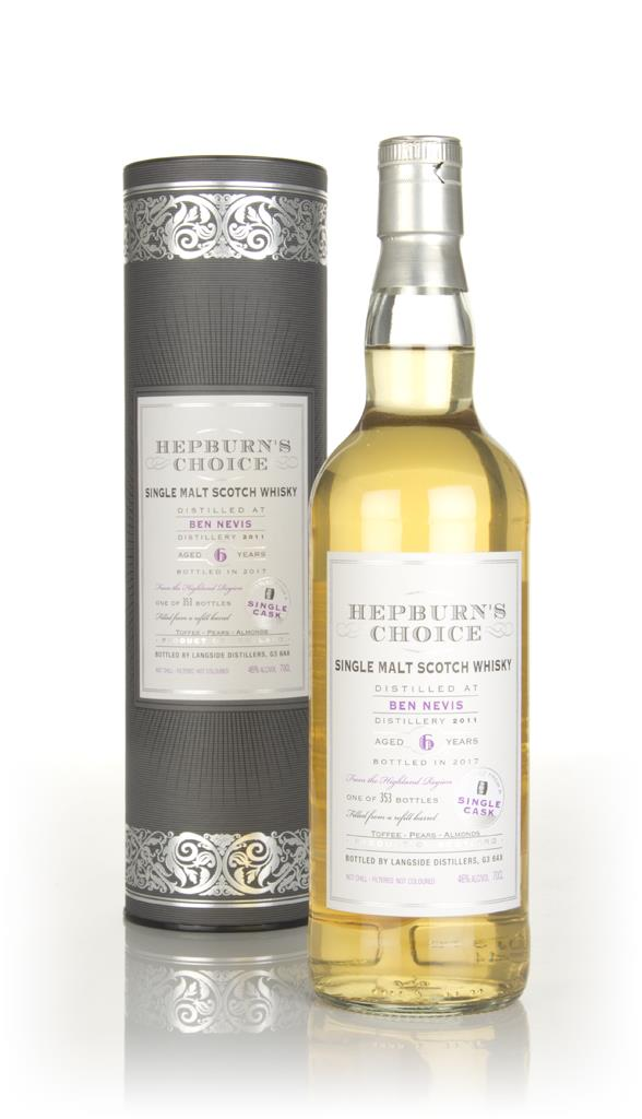 Ben Nevis 6 Year Old 2011 (bottled 2017) -  Hepburns Choice (Langside Single Malt Whisky