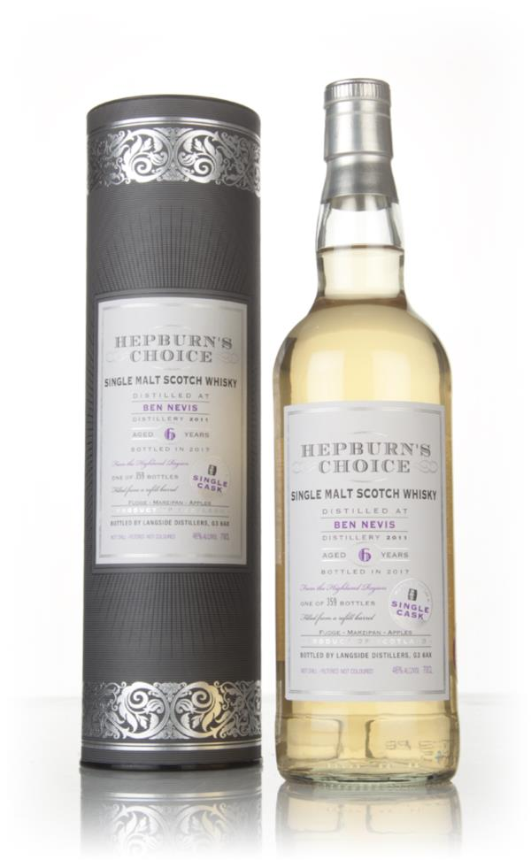 Ben Nevis 6 Year Old 2011 - Hepburn's Choice (Langside) Single Malt Whisky