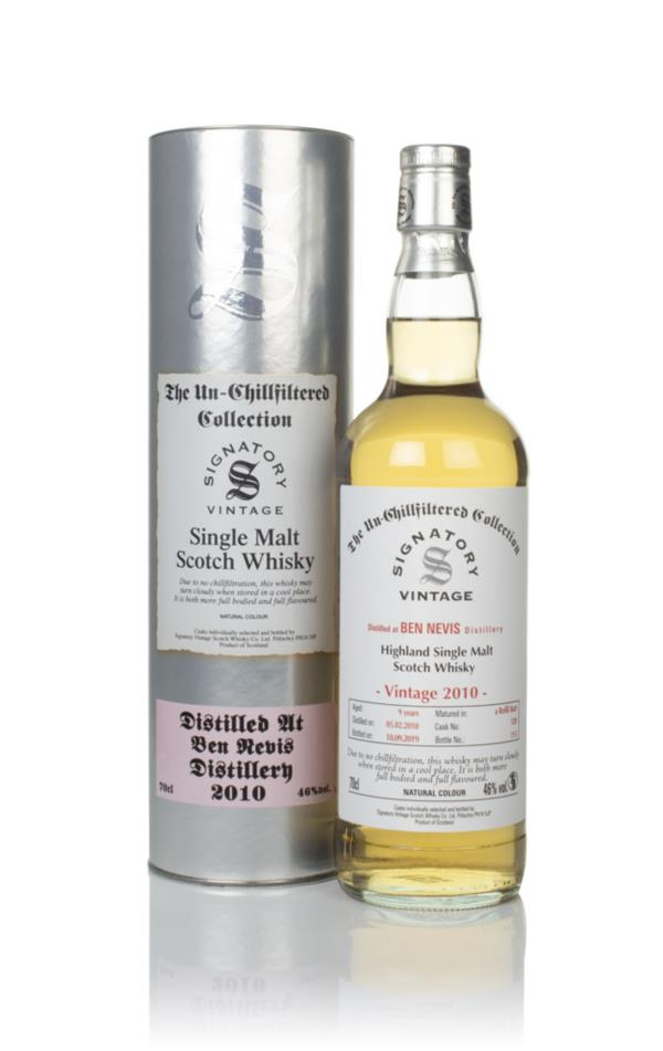 Ben Nevis 9 Year Old 2010 (cask 128) - Un-Chillfiltered Collection (Si Single Malt Whisky