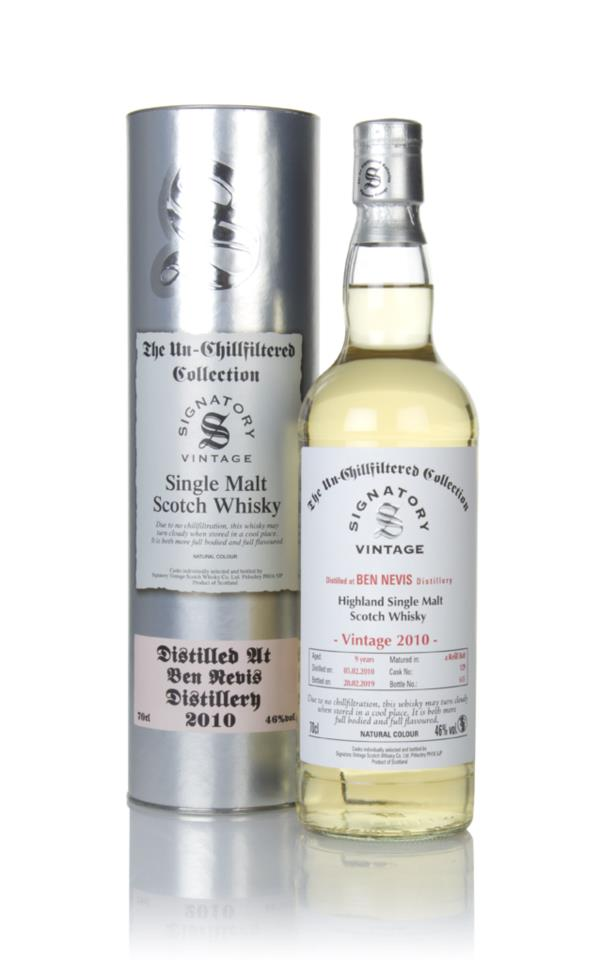 Ben Nevis 9 Year Old 2010 (cask 129) - Un-Chillfiltered Collection (Si Single Malt Whisky