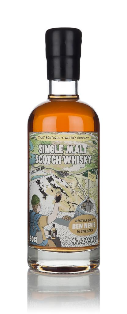 Ben Nevis - Batch 3 (That Boutique-y Whisky Company) 3cl Sample Single Malt Whisky