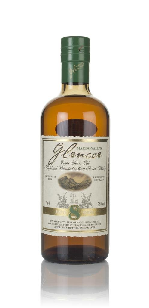 MacDonalds Glencoe 8 Year Old Blended Malt Whisky