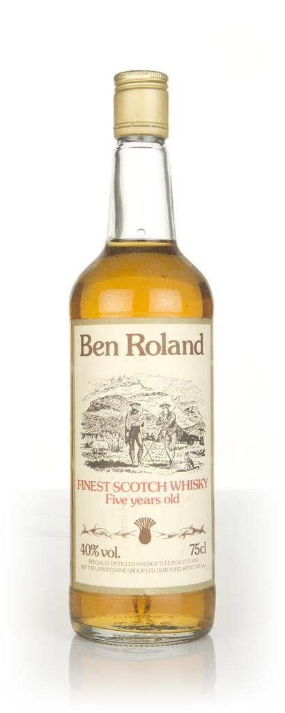 Ben Roland 5 Year Old - 1970s Blended Whisky