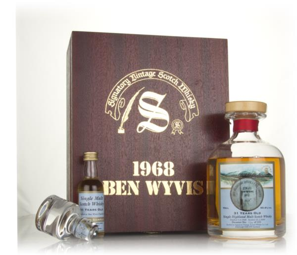 Ben Wyvis 31 Year Old 1968 (cask 687) - Signatory Vintage Single Malt Whisky