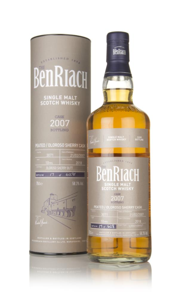 BenRiach 10 Year Old 2007 (cask 3071) Single Malt Whisky