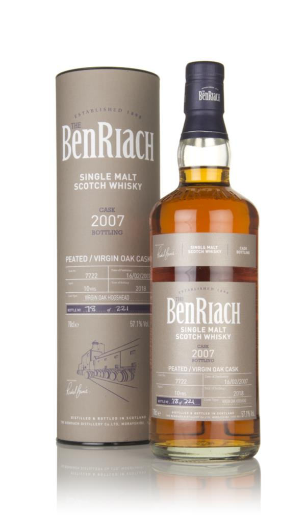 BenRiach 10 Year Old 2007 (cask 7722) Single Malt Whisky