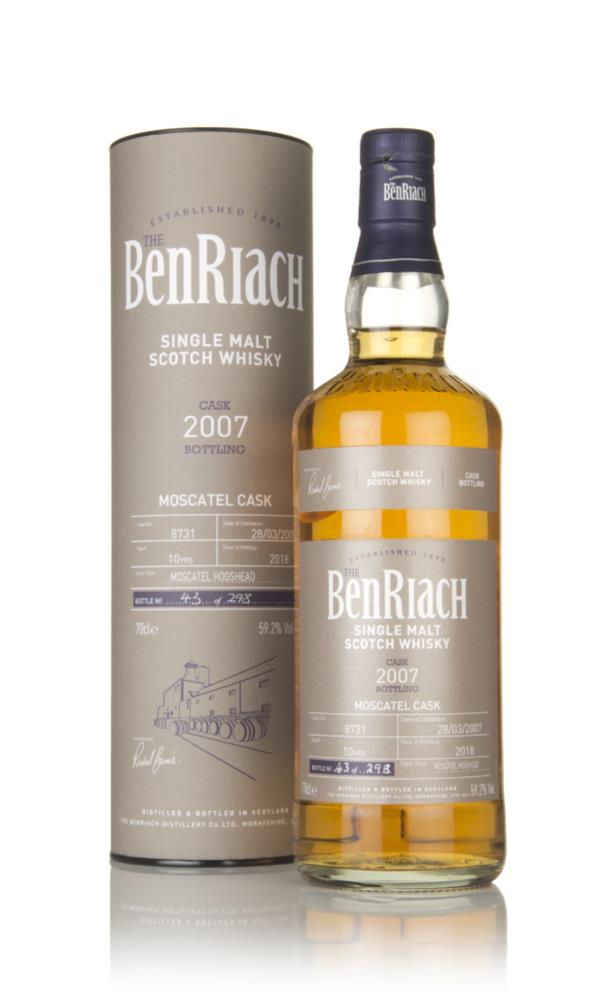 BenRiach 10 Year Old 2007 (cask 8731) Single Malt Whisky