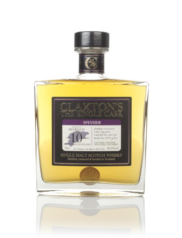 BenRiach 10 Year Old 2008 - Claxtons Single Malt Whisky