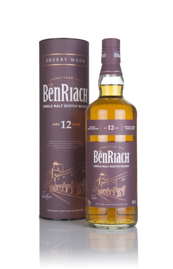BenRiach 12 Year Old - Sherry Wood Single Malt Whisky