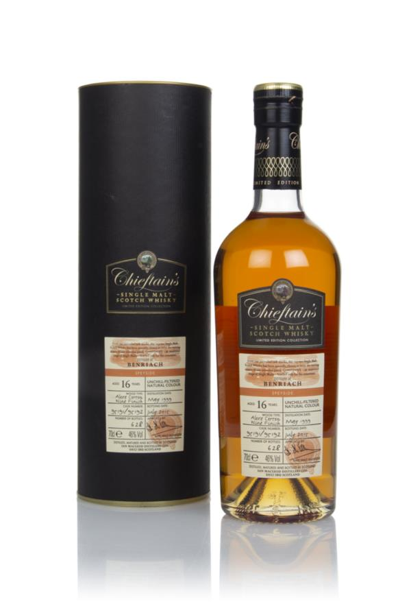 BenRiach 16 Year Old 1999 (casks 95191 & 95192) - Chieftains (Ian Mac Single Malt Whisky