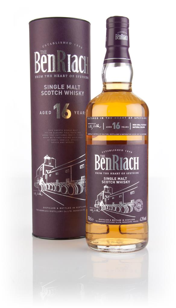 BenRiach 16 Year Old Single Malt Whisky