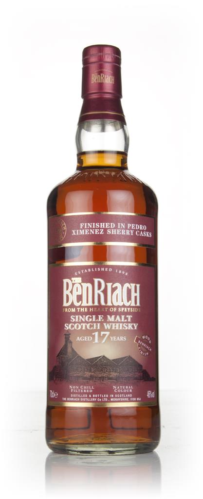 BenRiach 17 Year Old Pedro Ximenez Sherry Finish Single Malt Whisky