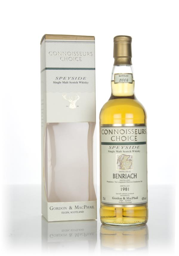 BenRiach 1981 (bottled 2004) - Connoisseurs Choice (Gordon & MacPhail) Single Malt Whisky