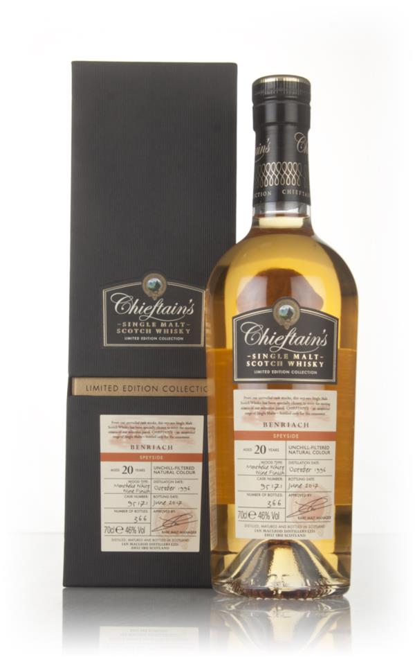 BenRiach 20 Year Old 1995 (cask 95171) - Chieftains (Ian Macleod) Single Malt Whisky