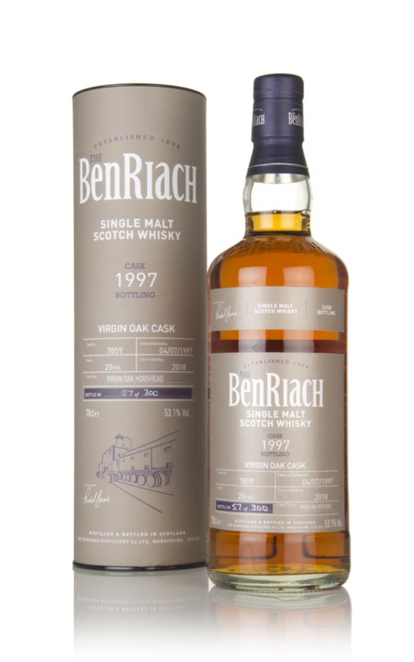 BenRiach 20 Year Old 1997 (cask 7859) Single Malt Whisky